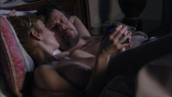 Rochelle Bostrom nude topless in bed in - Damages (2011) s04e05 720p