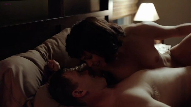 Morena Baccarin naked nude topless and hot sex scene in - Homeland s01e01 (2011) hd720p