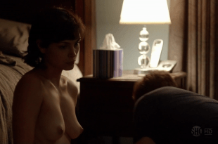 Morena Baccarin naked and nude topless after sex – Homeland S1E03 hd720p