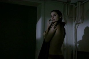 Lake Bell naked side boob and skinny dipping – Little Murder (2011)