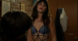 Zooey Deschanel sexy in bra and panties - New Girl s1e8 hd720p