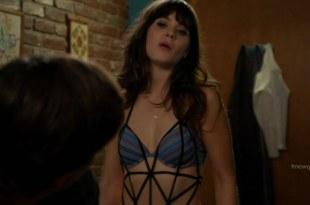 Zooey Deschanel sexy in bra and panties – New Girl s1e8 hd720p