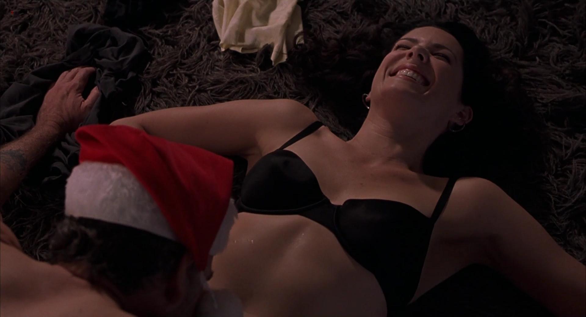 """Lauren Graham sexy in """"Bad Santa"""" (2003) hd1080p"""