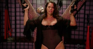 Amy Landecker nude topless in - House of Lies s01e03 hd720p (5)