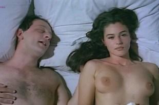 Monica Bellucci nude topless and hot sex  – La riffa (1993)