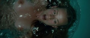 Karine Vanasse topless bath scene from Switch (2011) hd1080p