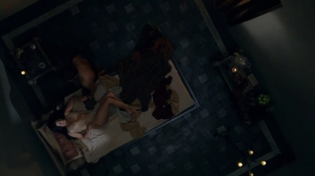 """Katrina Law sexy see through in """"Spartacus: Vengeance"""" s2e2 hd720p"""