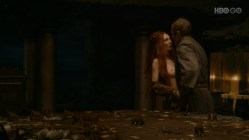 Carice van Houten full naked and sex from - Game Of Thrones s2e2 hd720p