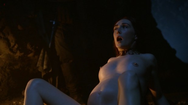 Carice van Houten full naked pregnant and nude topless from Game Of Thrones s2e4 hd720p