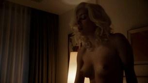 Jessica Marais naked seductive sex and great nude topless rack - Magic City s1e4 hd70p (14)
