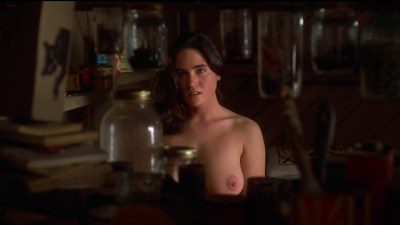"""Jennifer Connelly nude topless in """"Inventing the Abbotts"""" (1997) hd1080p"""
