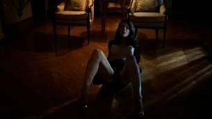 Jessica Marais naked seductive sex and great nude topless rack - Magic City s1e4 hd70p (9)