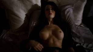 Jessica Marais naked seductive sex and great nude topless rack - Magic City s1e4 hd70p (6)