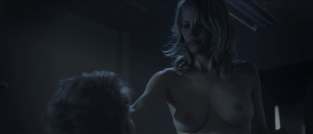 Mircea Monroe naked stripped to nude topless - Bloodwork (2011) hd1080p (6)