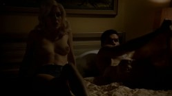 Elena Satine naked smoking nude topless in the bed - Magic City s1e5 hd720p