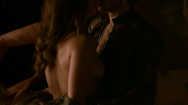Oona Chaplin all naked and sex - Game of Thrones s2e8 hd720p