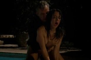 """Jessica Marais and Dominik García-Lorido all nude in """"Magic City"""" s1e8 hd720p"""