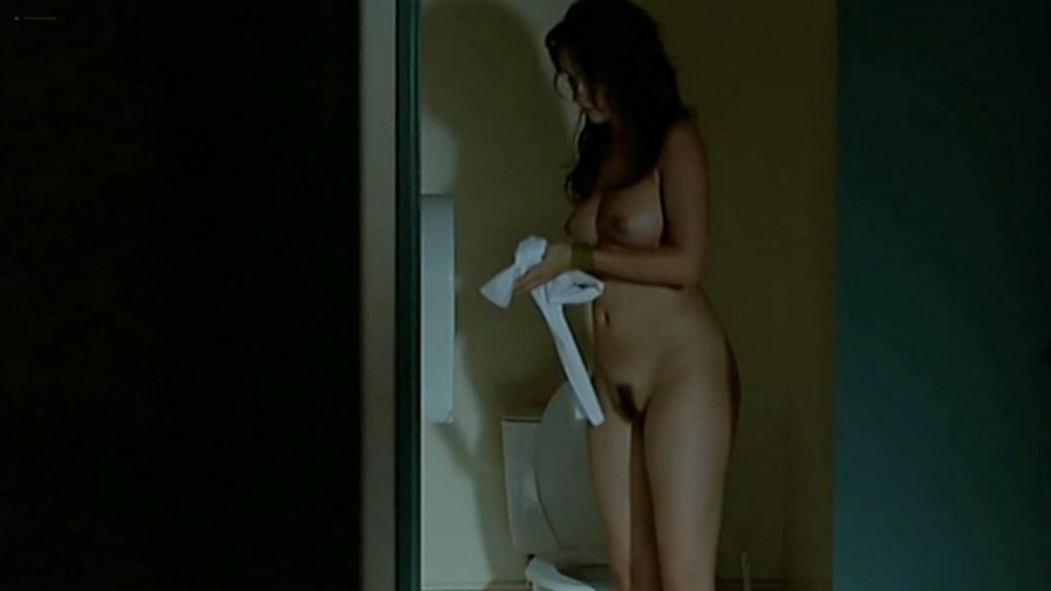 Salomé Stévenin nude full frontal, bush sex threesome - Douches Froides (FR-2005) (5)