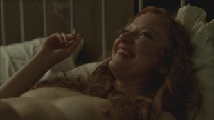 Gretchen Mol naked, sex and nude smoking - Boardwalk Empire s3e6 hd720p