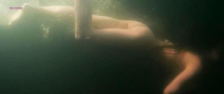 Alicia Vikander nude topless and skinny dipping - Kronjuvelerna (2011)