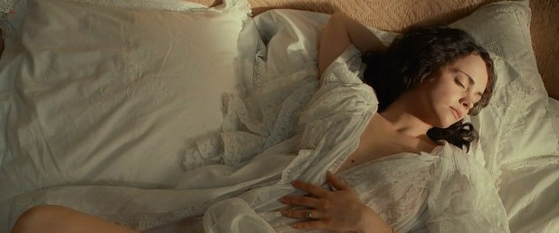 Christina Ricci nude topless from Bel Ami (2012) hd720p