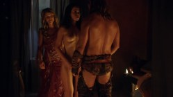 Ellen Hollman and Gwendoline Taylor full frontal nude in - Spartacus (2003) s3e3 hd1720p (2)
