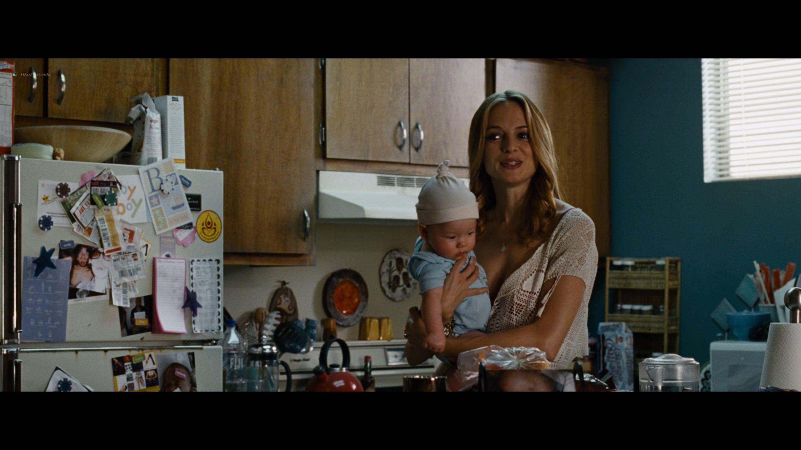 Heather Graham nude topless breastfeeding in - Hangover (2009) UHD 2160p (5)