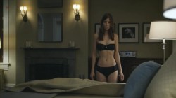 Kate Mara strip to bra and panties - House of Cards s1e11