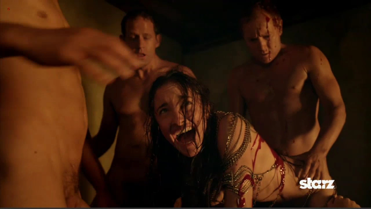 Various nude actress in orgy scene from - Spartacus Vengeance 2x1 hd72p