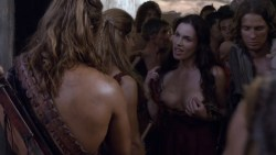 Luna Rioumina nude topless from Spartacus s3e4 (2013) hd720p