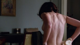 Alexis Bledel side boob and very hot from - Mad men (2012) s5e13 HD 1080p