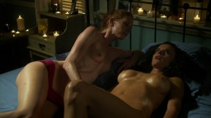 Ana Alexander and Jill Evyn all naked and nude sex in Chemistry s1e9 hd720p (4)