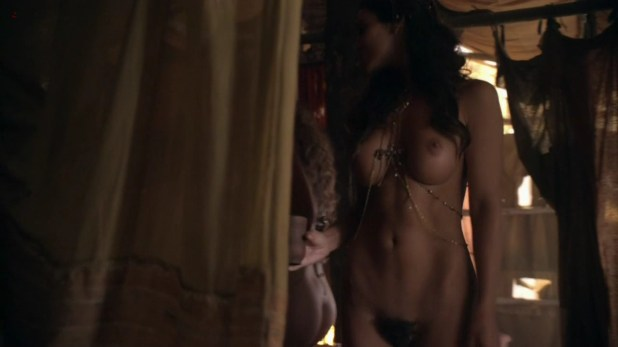 Ayse Tazel nude full frontal and sex from spartacus s3e7 hd7201