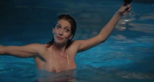 """Dawn Olivieri naked and skinny dipping in the pool """"House of Lies"""" S02E09 (2013) hd720p"""