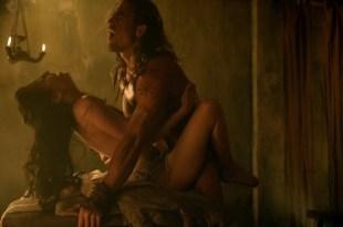 """Delaney Tabron nude having wild sex in """"Spartacus"""" s2e5 720p"""