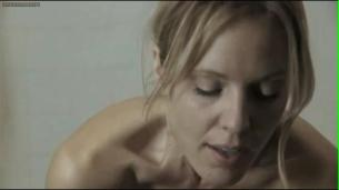 "Emma Caulfield nude topless and butt from Dont'Panic"" with slow motion"