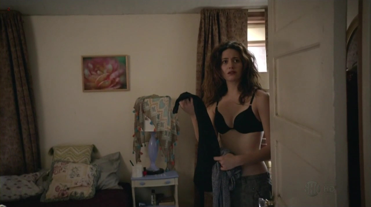 "Emmy Rossum hot and sexy in lingerie from ""Shameless"" 3e9 (2013) hd720p"