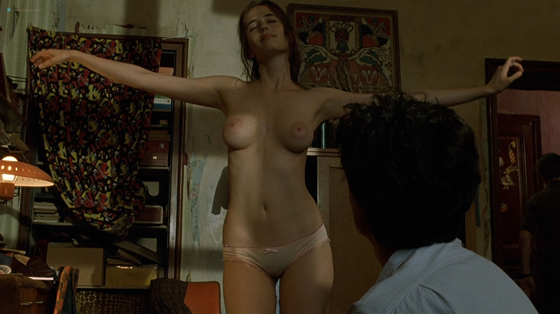 Eva Green nude full frontal explicit and sex threesome in - The Dreamers (2003) hd1080p BluRay (20)