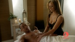 Jennifer Love Hewitt sexy and hot cleavage in lingerie - The Client List s1e9 hd720p (7)