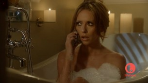 Jennifer Love Hewitt sexy and hot cleavage in lingerie - The Client List s1e9 hd720p (1)