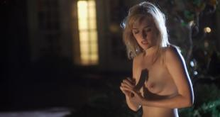 Jess Weixler full frontal naked running by the pool in Somebody Up There Likes Me 2013 hd720p