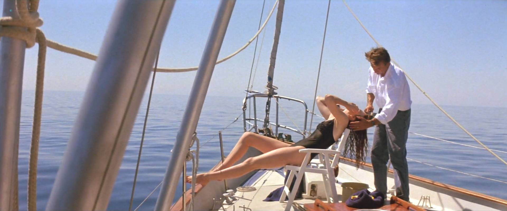 Nicole Kidman nude topless and butt naked in - Dead Calm (1989) HD 1080p (2)