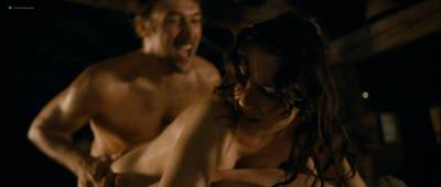 Roxane Mesquida naked and threesome sex from - Sennentuntschi (2010) HD 1080p BluRay (9)