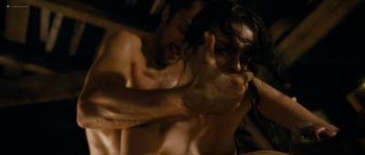 Roxane Mesquida naked and threesome sex from - Sennentuntschi (2010) HD 1080p BluRay (8)