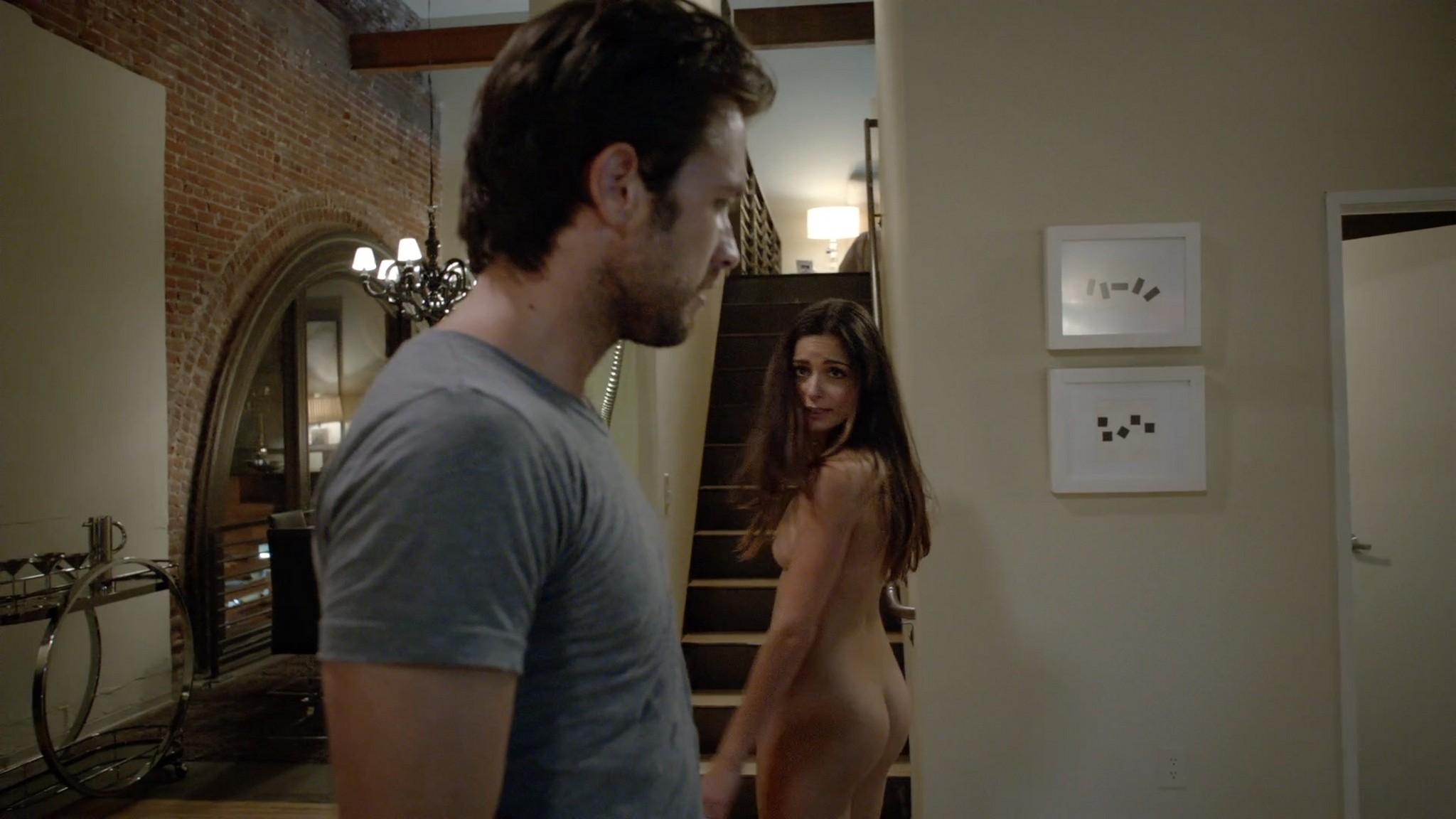 Stephanie Fantauzzi butt naked and topless - Shameless s3e7 (2013) HD 1080p (3)