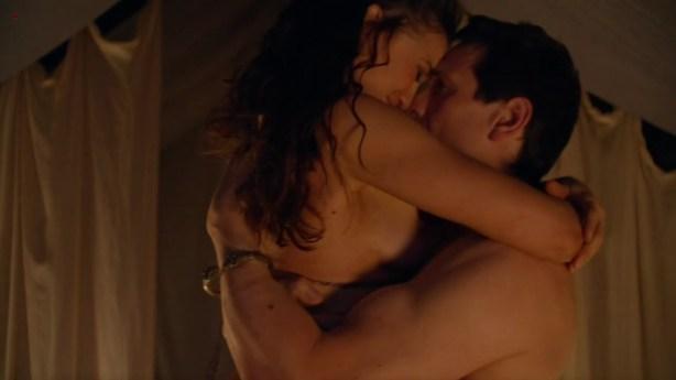 """Jenna Lind nude in hot sex scene """"Spartacus"""" s3e5 (2013) hd720p [nude, sex]"""