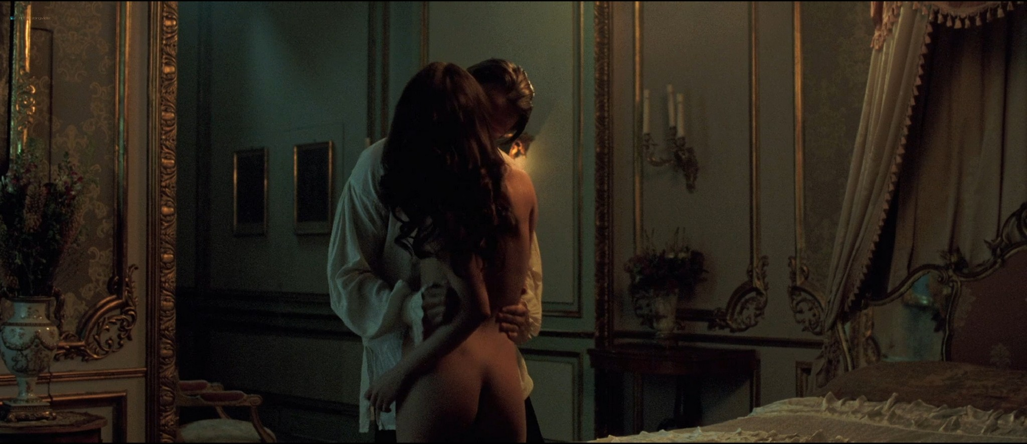 Alicia Vikander nude butt naked and sex - A Royal Affair (2012) HD 1080p BluRay (9)