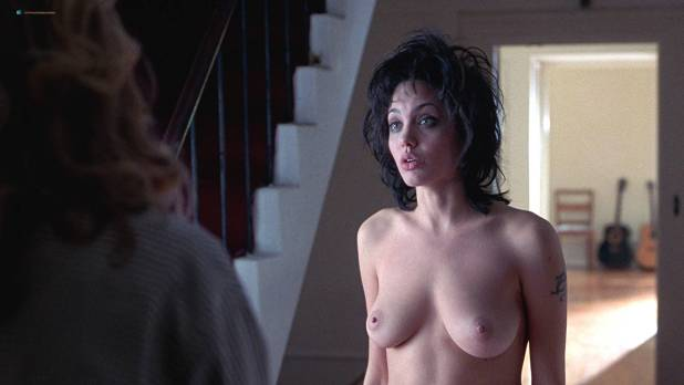 Angelina Jolie nude butt and Elizabeth Mitchell nude lesbian sex - Gia (1988) HD 1080p BluRay (6)