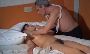 Lina Romay nude full frontal Pamela Stanford Catherine Lafferiere explicit lesbian oral - Lorna The Exorcist (1974) (10)