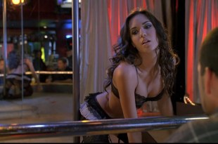 Odette Yustman hot  as stripper sex and sexy in lingerie – Group Sex (2010) hd1080p